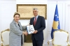 President Thaçi accepted the European Commission Report from Ambassador Apostolova