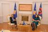 Predsednica Osmani dočekala na sastanku predsednicu Ustavnog suda