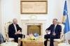 Presidenti Thaçi priti në takim senatorin amerikan, Ronald Johnson