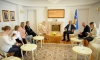 Presidenti Thaçi priti ambasadorin Pekka Metso