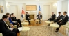 President Thaçi received the United Kingdom Minister of State for the Armed Forces, they speak about the KSF