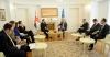 Presidenti Thaçi priti Ministrin e Shtetit për Forca të Armatosura të Britanisë së Madhe, flasin për FSK-në