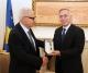 U.D. i Presidentit të Republikës së Kosovës, dr. Jakup Krasniqi priti krijuesin Ramiz Kelmendi