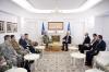 Presidenti Thaçi priti admiralin James Foggo: Kosova përjetësisht mirënjohëse ndaj KFOR-it dhe NATO-s