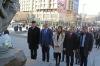 President Thaçi paid homage at the statue of Zahir Pajaziti, Hero of Kosovo