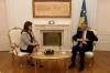 President Thaçi met with the President of the CEC and the Director of the Kosovo Police