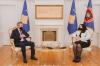 President Osmani received Governor Mehmeti