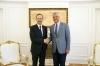Presidenti Thaçi priti në takim lamtumirës ambasadorin e deritashëm austriak në Kosovë, Gernot Pfandler