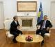 Presidenti Thaçi priti në takim lamtumirës ambasadorin jo-rezident të Japonisë, Makoto Taketoshi