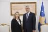 Presidenti Thaçi priti senatoren franceze Conway-Mouret, fton për përkrahje konkrete nga shtetet anëtare të BE-së