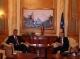 The Acting President of Kosovo Dr. Jakup Krasniqi meets Prime Minister Thaçi