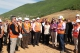 President Atifete Jahjaga visited the workings on the highway Vërmicë-Merdar