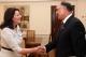 Presidentja Jahjaga priti ambasadorin e Afganistanit, Siaullah Mahmud