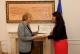 Predsednica Jahjaga je dočekala predsednicu Helsinškog Komiteta za ljudska prava u Srbiji, gospođu Sonja Biserko