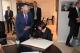 Predsednica Jahjaga susrela se sa predsednikom Evropskog Parlamneta g-dinom Jerzy Buzek