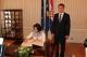 Predsednica Jahjaga je dočekana od Predsednika Sabora i Premijera Hrvatske