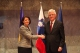 Predsednica Jahjaga se susrela sa  predsednikom Skupštine  Slovenije, dr. Pavelom Gantarom.