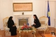 President Jahjaga met the United Arab Emirates Minister of State Ms. Maitha Salen Al Shamsi