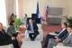 Predsednika Atifete Jahjaga se susrela sa slovenskim  premijerom , Borutom  Pahorom
