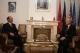 Prishtinë, 16 tetor 2007 - Presidenti Sejdiu priti z. Giovanni di Stasi, udhëheqës i misionit për vëzhgimin e zgjedhjeve të 17 nëntorit nga Këshilli i Evropës.