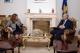 """Presidenti Sejdiu priti znj.Valdete Idrizi, udhëheqëse e OJQ-së """"Community Building Mitrovica"""""""