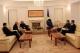 Predsednica Jahjaga dočekala Biskupa Kosovske Biskupije, Mons. Dodë Gjergji