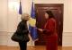 Predsednica Jahjaga je dočekala novog ambasadora Francuske na Kosovu, gđu. Marsye Daviet