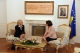 Predsednica  Jahjaga, primila je  otpravnicu poslova Finske Ambasade, Tarju Fernandez