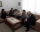 Predsednica Jahjaga posetile veterana obrazovanja na Kosovu Nadire Dida