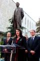 Predsednica Jahjaga prisustvovala ceremoniji otkrivanja spomenika rodoljubu Hasan Prishtina u Tirani
