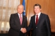 The President of Albania Bamir Topi stages a magnificent reception for President Pacolli