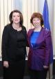 Predsednica  Jahjaga se sastala sa baronicom  Ashton