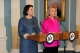 Predsednica  Jahjaga se susrela sa Američkom državnom  sekretarkom g-đom  Hillary Clinton