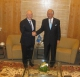 Prime Minister of Malaysia Dato' Sri Mohd Najib Tun Abdul Razak receives President Sejdiu