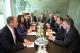 President Jahjaga met with the President of France, Mr. Francois Hollande