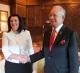 Predsednica Atifete Jahjaga je dočekana od premijera Malezije